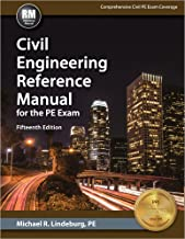 Civil Engineering Reference Manual for the PE Exam, 15th Ed PDF