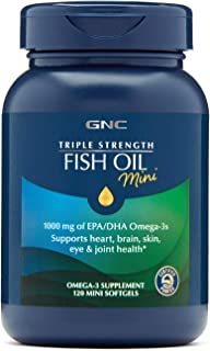 Sponsored Ad - GNC Triple Strength Fish Oil Mini,120 Mini Softgels