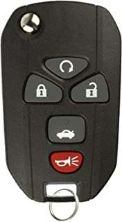 KeylessOption Keyless Entry Flip Key Car Remote Fob Ignition key For 15912860 Impala Monte Carlo Lucerne DTS