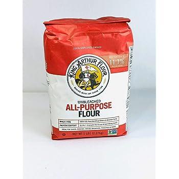 King Arthur All Purpose Flour 5 Lb (2.27 Kg) Unbleached
