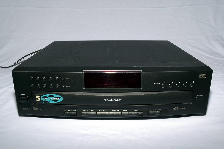 Magnavox 5 CD Changer depot Dealing full price reduction CDC-794