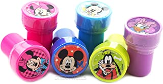 Disney Mickey Mouse and Friends 10 Self Inking Stampers Party Favors (10 Stampers)