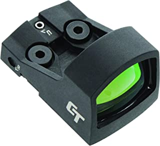 Crimson Trace CTS-1550 Ultra Compact Open Reflex Pistol Sight with LED 3.5 MOA Red Dot and Integrated Co-Witness for Compa...