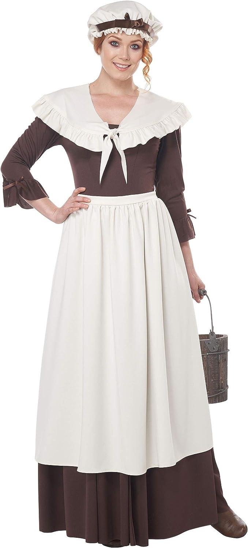 Ranking TOP2 Colonial Village Costume Woman Cheap SALE Start