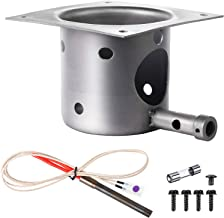 Mudder Fire Burn Pot and Hot Rod Ignitor Kit Replacement Parts for Pit Boss and Traeger Pellet Grill Plus Screws and Fuse