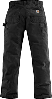 Men's Relaxed Fit Washed Twill Dungaree Pant