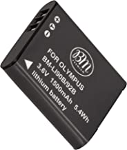 BM LI-90B, LI-92B Battery for Olympus Tough TG-6, TG-5, TG-Tracker, Tough SH-1, SH-2, SP-100, SP-100 IHS, Tough TG-1 iHS, Tough TG-2 iHS, Tough TG-3, Tough TG-4, SH-50 iHS, SH-60, XZ-2 iHS Cameras