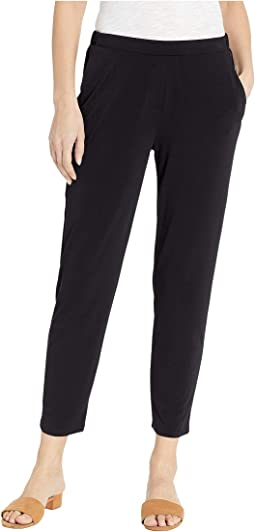 Flat Front Faux Fly Pants