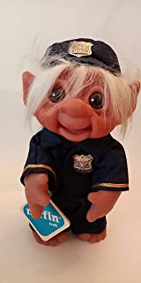 Rare Norfin Officer McNorfin Troll Doll Made in Denmark by Thomas Dam Design, Still has tag (preowned Condition)