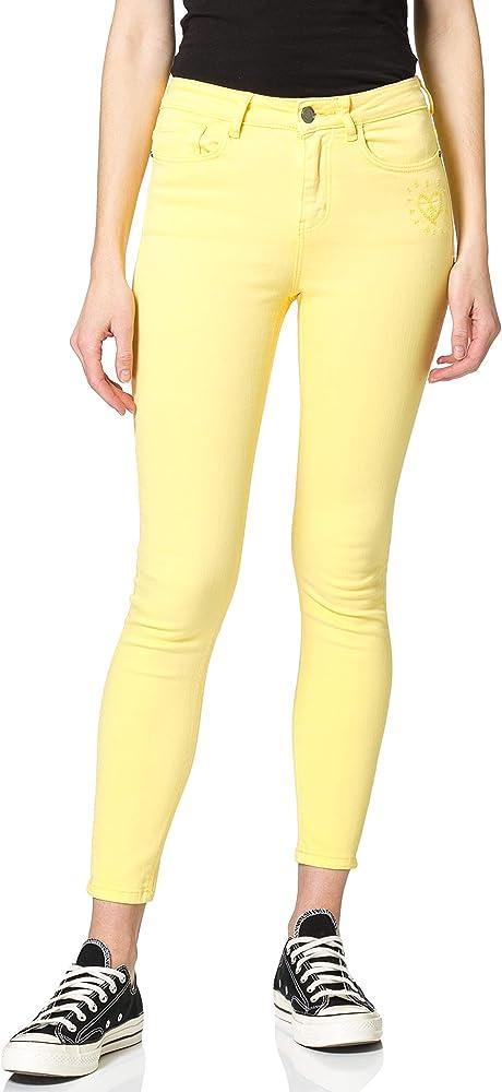 Desigual ,pantaloni casual per donna,90% cotone, 8% polyestere, 2% elastane 21SWPN08G