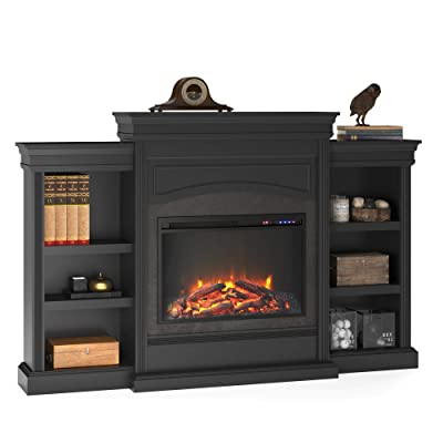 Ameriwood Home Lamont 1815407COM Mantel Fireplace