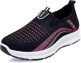 Sponsored Ad - OUNITY SPORTS HANGTEN Women's Sock Sneakers Walking Shoes, Comfortable Slip-on Lady Girl Shoes