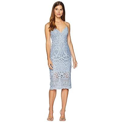 Bardot Gia Lace Dress (Dusty Blue) Women