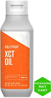 Bulletproof XCT Oil, Perfect for Keto and Paleo Diet, 100% Non-GMO Premium C8 C10 MCT Oil, Ketogenic Friendly, Responsibly Sourced from Coconuts Only, Made in The USA (16 oz)
