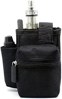 GinTai Ego Travel Carry Vape Case Multiple Use for Vape Box Mod Kit Bag (Black)