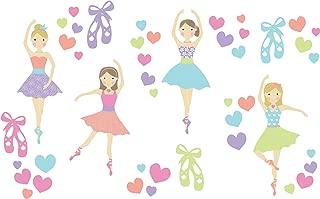WallPops WPK2575 Prima Ballerina Wall Art Kit, Multicolor