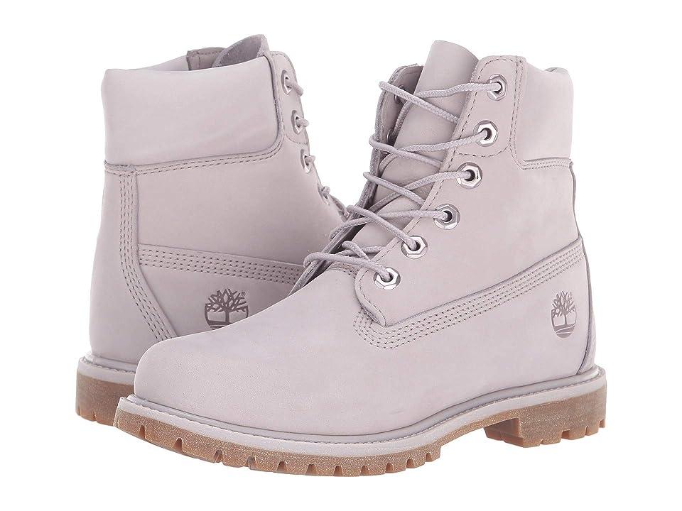 Timberland 6 Premium Boot (Light Lilac Nubuck) Women b31b07228c