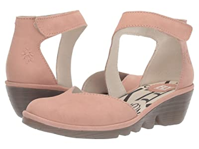 FLY LONDON PATS801FLY (Nude Pink Cupido) Women