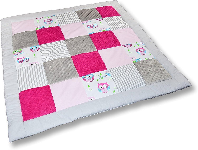 El ultimo 2018 Manta de de de juego para rastrillo de patchwork (M011) Talla 125 x125 cm  comprar ahora