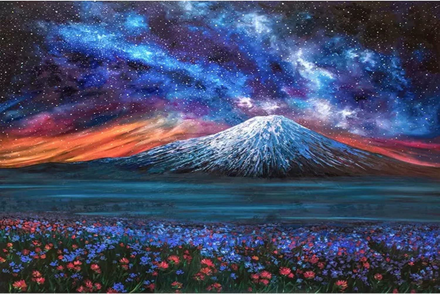 Mstoio 5000 Pieces Free shipping on shop posting reviews Jigsaw Puzzle Adults Enter Scenic Volcano for