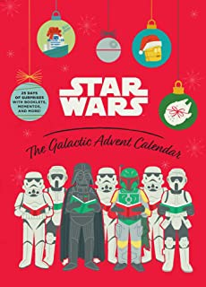 Star Wars: The Galactic Advent Calendar: 25 Days of Surprises With Booklets, Trinkets, and More! (Official Star Wars 2021 ...