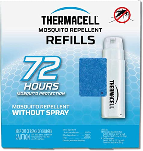Thermacell Mosquito Repellent Refills Compatible with Any Fuel Powered Thermacell Product No Spray Scent Mess 15 Ft Z...