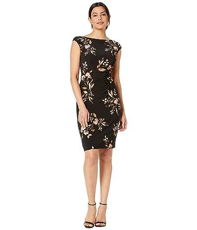 LAUREN Ralph Lauren Novellina Dress (Black/Pink/Multi) Women