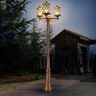 FEE-ZC Post Light Waterproof Vintage Post Light High Pole Lamp European Traditional Victoria Retro Outdoor Garden Pathway ...