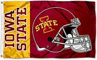College Flags & Banners Co. Iowa State Cyclones Football Helmet Flag