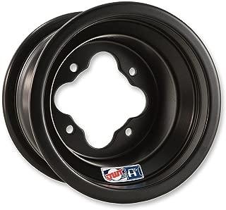 Douglas Wheel Tire A511-039M A5 Wheel - 10x5 - 3+2 Offset - 4/144 - Black, Bolt Pattern: 4/144, Rim Offset: 3+2, Wheel Rim Size: 10x5, Color: Black, Position: Front/Rear