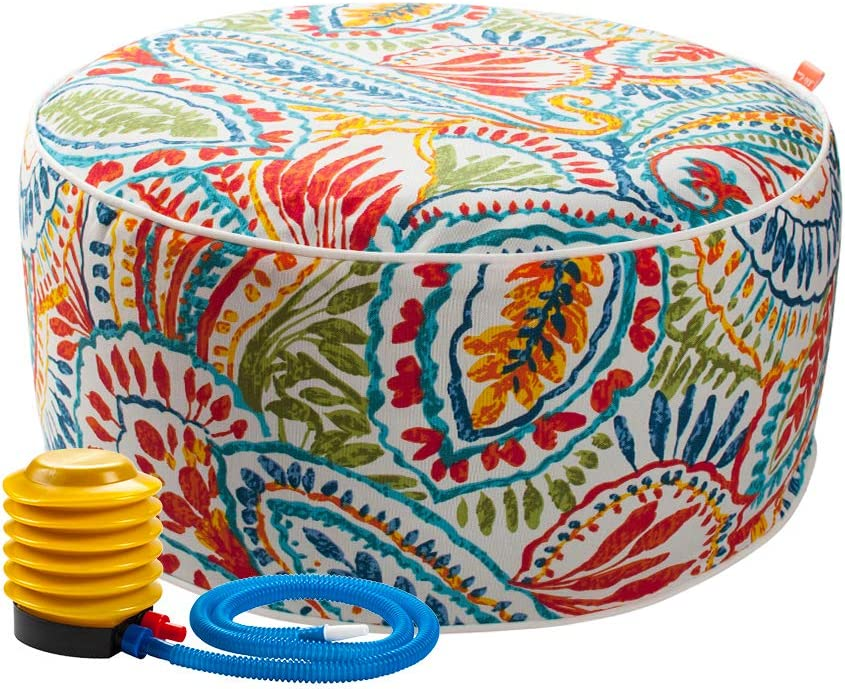 Inflatable Ottoman footrest Stool Ranking TOP13 with Purchase Portable air Pump Sto and