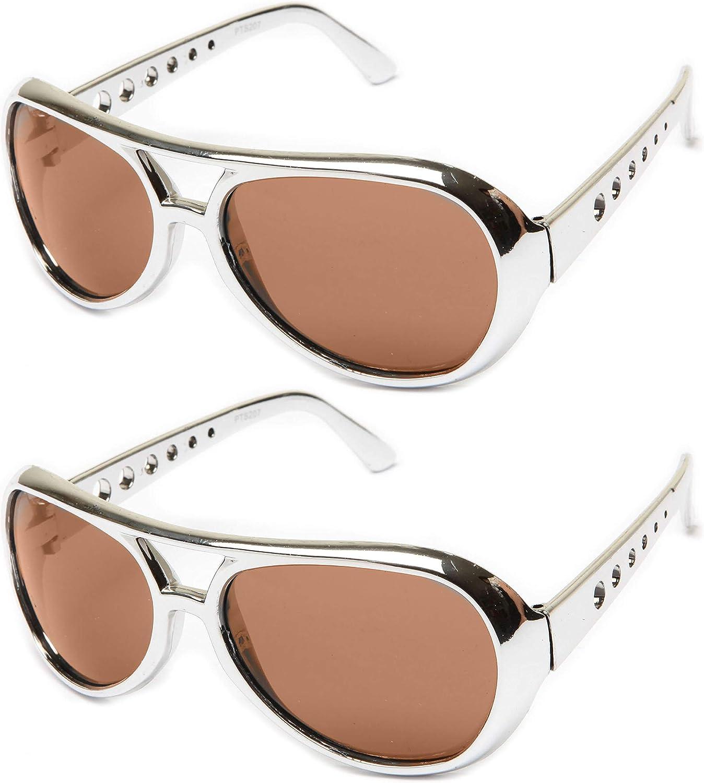 Rockstar Sunglasses Costume Shiny R Seasonal Wrap Introduction Memphis Mall Chrome 60's Party