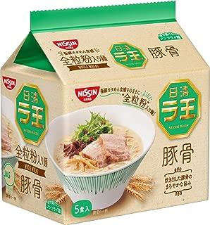 日清 ラ王 豚骨 5食パック 415g×6袋