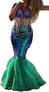 womens mermaid halloween costume