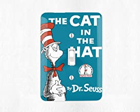 The Cat in The Hat Light Switch Cover Light Switch Plate Dr Seuss Nursery Dr Seuss Decor