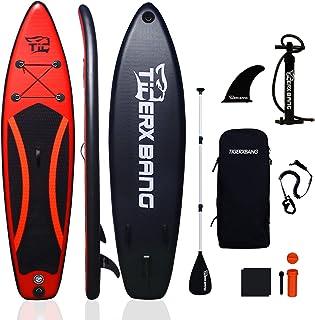 Tigerxbang - Tabla de surf para adultos y niños (300 x 71 x 15 cm, 320 x 80 x 15 cm)