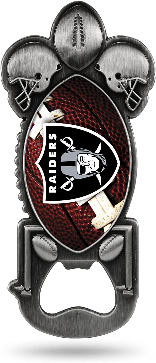 Mesa Mall NFL Oakland Raiders Magnetic Metal Starter Bottle Party Opener Challenge the lowest price of Japan ☆