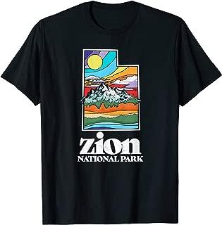 Zion National Park Utah Vintage Nature Outdoor T-Shirt
