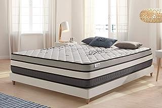 COSMOS | Matelas Solar 140x190 Cm | 1-2 Personnes | Système Multicouches Extra Confort Active Latex | Très Epais 30 Cm | M...