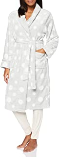 Marchio Amazon - Iris & Lilly Long Plush Dressing Gown Donna