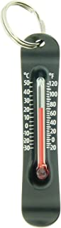 Sun Company Brrr-ometer - Snowsport Zipperpull Thermometer   Skiing & Snowboarding Thermometer for Jacket, Parka, or Pack