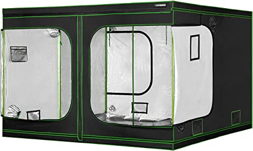 """discount VIVOSUN 120""""x60""""x80"""" 2021 Grow Tent with Observation Window and Floor Tray for Indoor Plant Growing new arrival 10x5 FT online sale"""