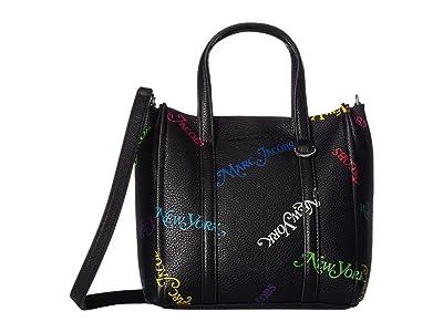 Marc Jacobs New York Magazine(r) x Marc Jacobs Mini Tag Tote (Black) Handbags