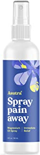 Asutra, Pure Zechstein, All-Natural Magnesium Oil Spray, Ultra-Pure and Effective, Rapid Transdermal Absorption, Can Reduce Joint Pain, Headaches, Anxiety, and More, One 4 oz. Bottle