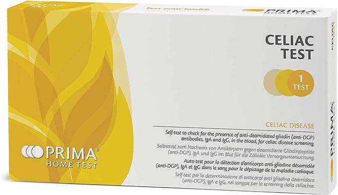 141 opinioni per PRIMA Home Test- Test Celiachia- Screening Anticorpi Malattia Celiaca
