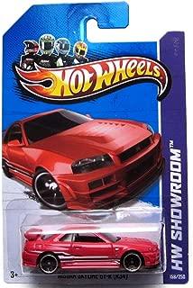 Hot Wheels 2013 HW Showroom Nissan Skyline GT-R (R34) Red