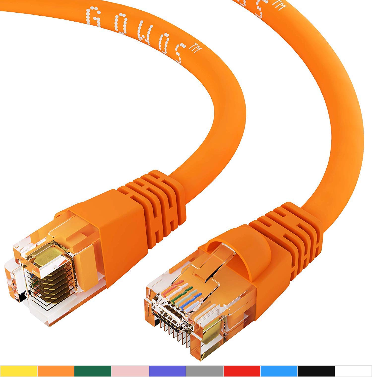 5 ft Networx Orange Booted CAT5e Patch Cable