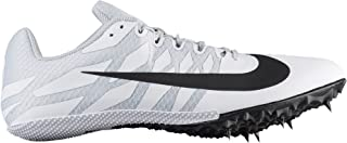 Men's Zoom Rival S 9 Track and Field Shoes (11.5, White/Black)