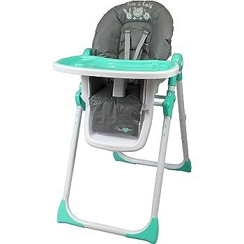 Bambisol Chaise Haute Bébé Téléscopique Dossier