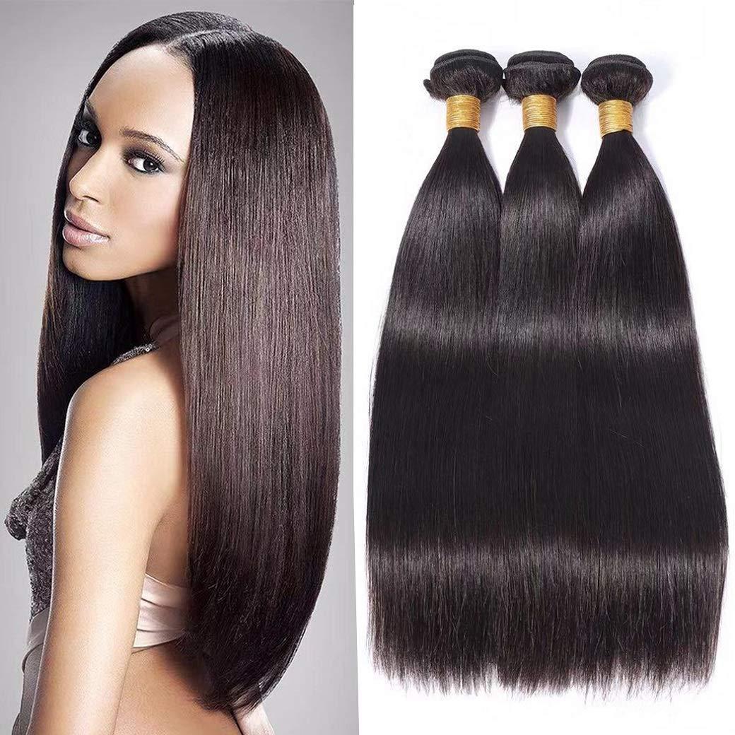 10A Peruvian 通販 Straight ランキングTOP10 Hair 3 Virgin Unpr Bundles 100% Human